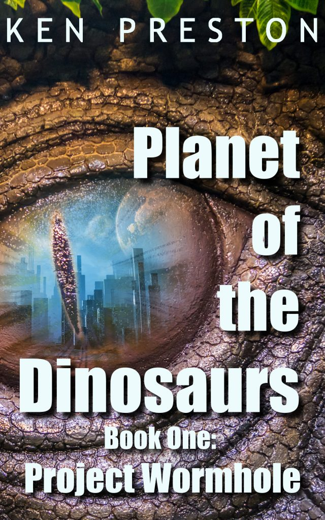 Planet of the Dinosaurs Book One Project Wormhole Book Cover