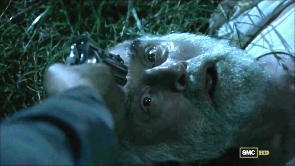 Dale dies in The Walking Dead